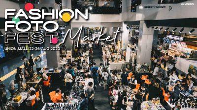 FASHION FOTO FEST MARKET at Union Mall
